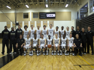 Spirit of the Springs Presentation to the UCCS Men's Basketball Team