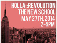 HOLLA::Revolution at The New School