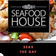 """Seas"" the Day at our Seafood House Station! Dinner  at Terrace Dining Hall."