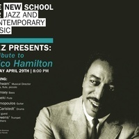 Jazz Presents | A Tribute to Chico Hamilton | Led by Evan Schwam w/Special Guests | 8pm