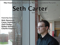 Senior Recital:  Seth Carter, guitarist
