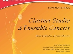 FSU Clarinet Studio & Ensemble Recital
