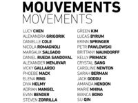 MOUVEMENTS/movements – Student Show
