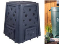 Rain Barrel and Compost Bin Sale
