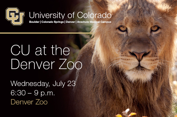 CU at the Denver Zoo - SOLD OUT
