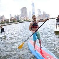 Stand Up Paddleboarding on the Hudson