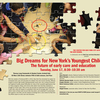 Big Dreams for New York's Youngest Children: The future of early care and education