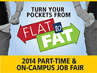 2014 Part-Time and On-Campus Job Fair