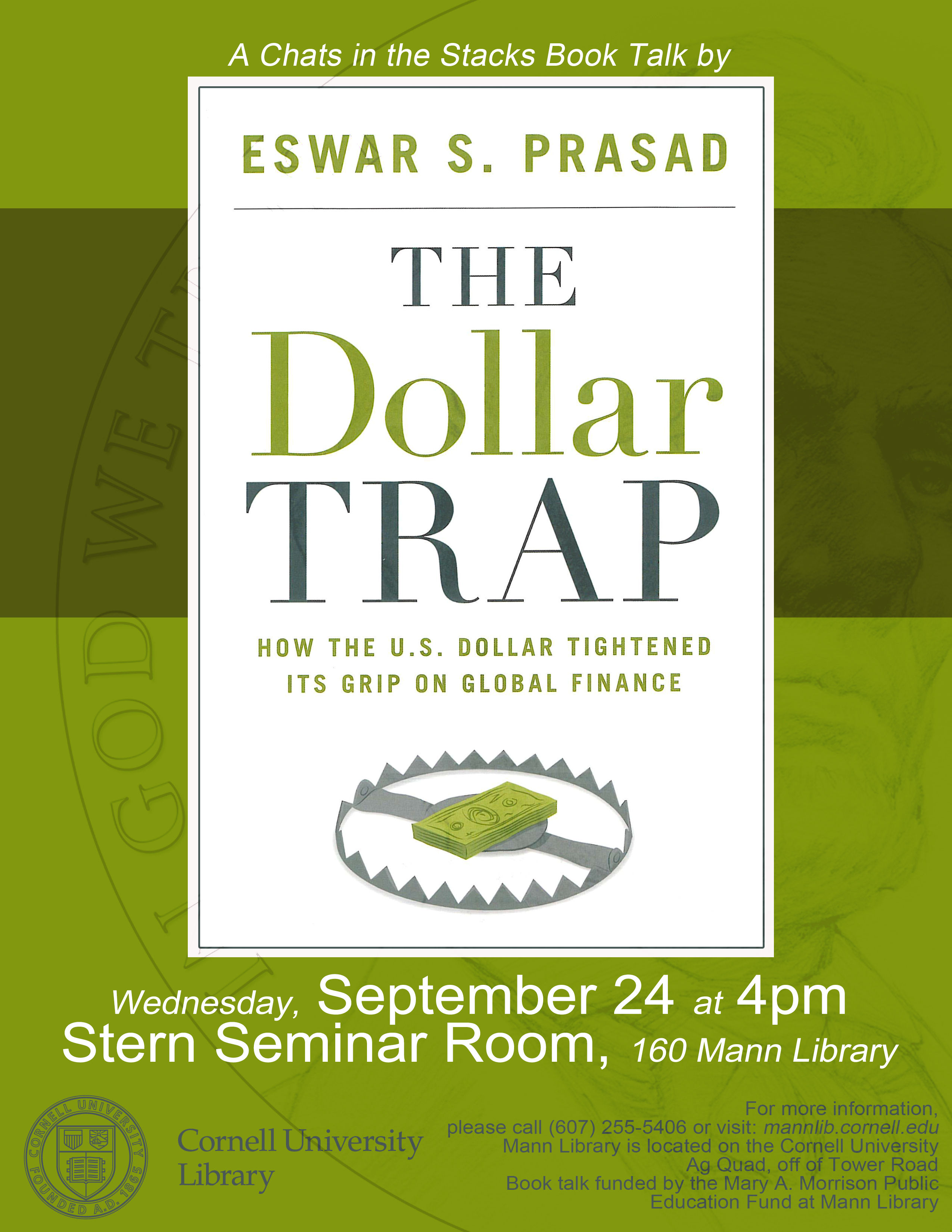 Book Talk: The Dollar Trap--How the U.S. Dollar Tightened Its Grip on Global Finance