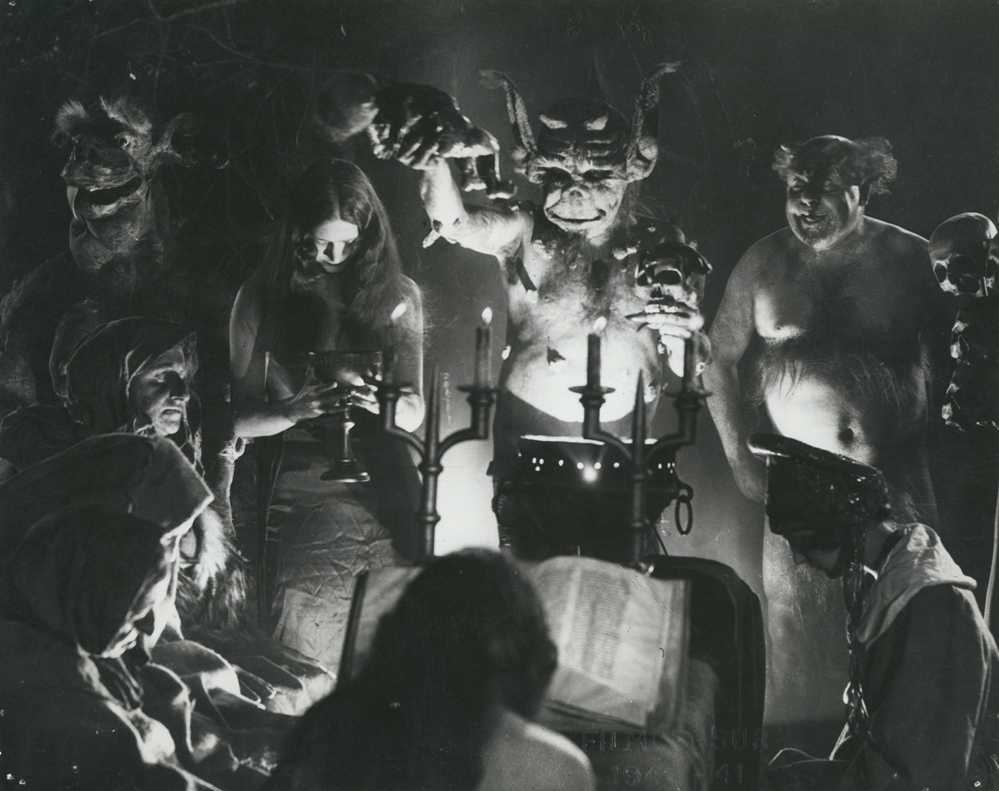 Häxan: Witchcraft Through the Ages FREE with live accompaniment by Transit and introduction by Andrew Utterson (Cinema, Ithaca College)