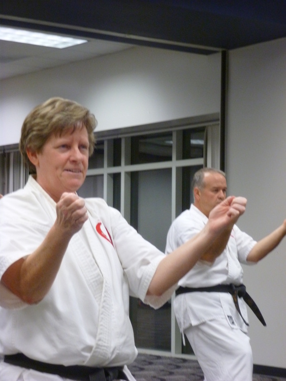 Free non-competitive martial art class