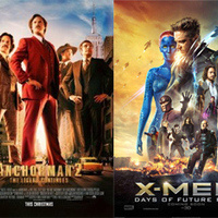 Drive-in Movie Double Feature: Anchorman 2 & XMEN: Days of Future Past