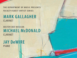 Clarinetists Mark Gallagher & Mike McDonald - Faculty-Guest Artist Recital