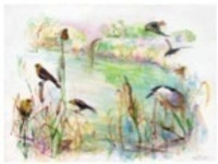 Layering Watercolors with Peggy Macnamara