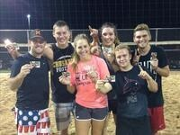 Intramural Sand Volleyball League Games
