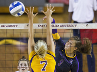 Inaugural American Athletic Conference ECU Volleyball Game