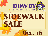 Dowdy's Fall Sidewalk Sale