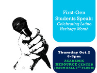 First Gen-Students Speak: Celebrating Latino Heritage Month