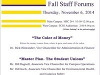 Fall Staff Forum (Main Campus)