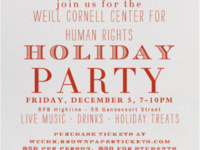 WCCHR Holiday Party