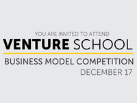 Venture School Business Model Competition