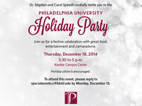 2014 University Holiday Party