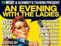 CV Weekly & Schmidy's Tavern Presents: An Evening With..