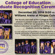 College of Education Graduate Recognition Ceremony
