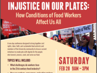 Injustice on Our Plates: How Conditions of Food Workers Affect Us All