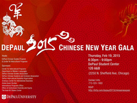 DePaul 2015 Chinese New Year Gala