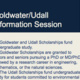 Cancelled--Goldwater/Udall Information Session