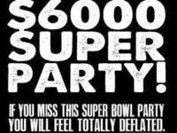 Superbowl Blow Out Party