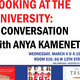 Looking at the University Series: A Conversation with Anya Kamenetz