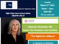High Value Care Lecture Series: The RightCare Alliance
