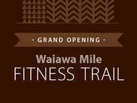 Fitness Trail Opening
