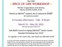 Spice of Life Workshop