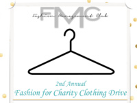 Fashion for Charity Clothing Drive