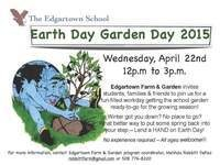 Earth Day Garden Day 2015