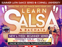 SALSA & BACHATA 6 WEEK BEGINNER SERIES