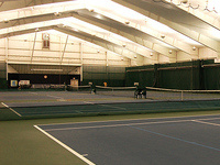 Men's Tennis West Michigan Indoor Doubles Shoot