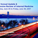 23rd Annual Update & Intensive Review of Internal Medicine