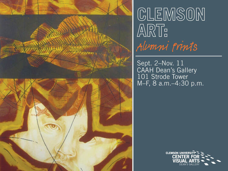 Clemson Art: Alumni Prints Art Exhibit