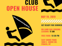 Cayuga Windsurfing Club Open House