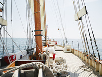 Sail General Patton's 1939 Wooden Schooner