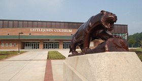 Littlejohn Coliseum Electrical Power Outage