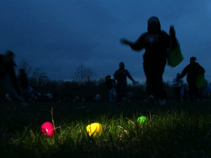 Illuminated Egg Hunt
