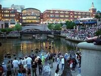 Water Fire & Providence Place Mall