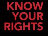 Know Your Rights: Conceptual and Multimedia Artworks