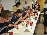 UNR vs GNCU Pancake Eating Contest