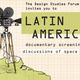 Latin America Documentary Series: Discussions of Space